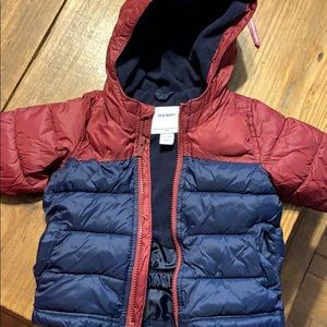 Old Navy puffer coat